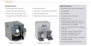 4100 condensate features
